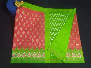 Latest Pochampally Ikkat Saree