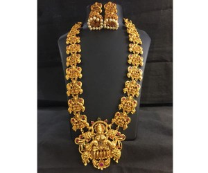 Latest 1 Gram Jewellery Necklace Set