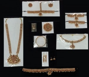Bharatanatyam Jewellery Set