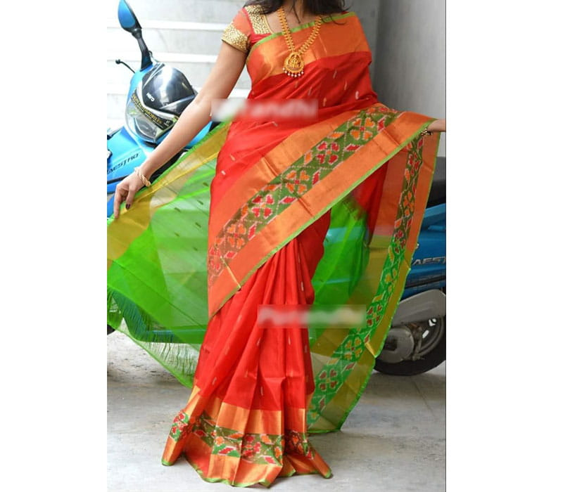 Latest and Most Beautiful Pure Uppada Silk Saree
