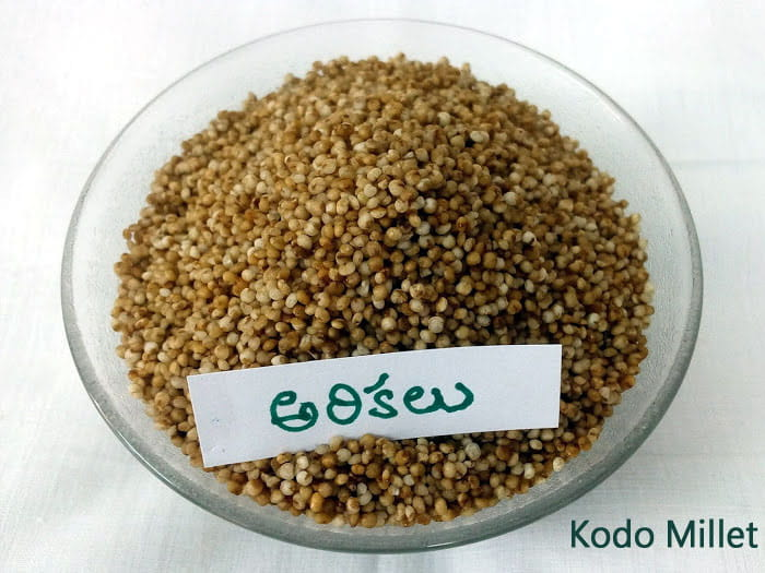 Kodo Millet (Arikelu) 1 Kg with Vacuum Packing