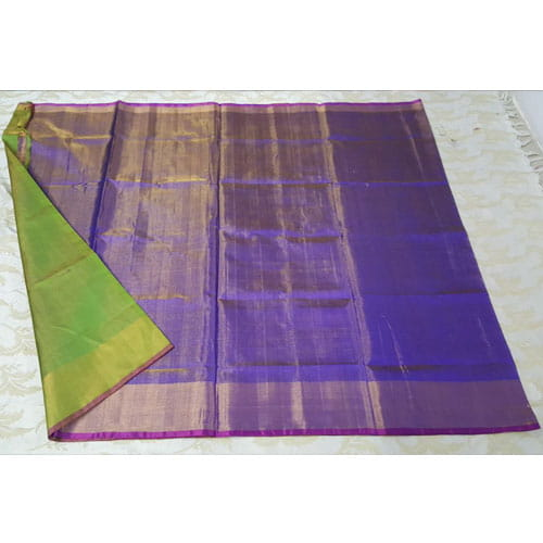 Violet Color Tissue Uppada Saree