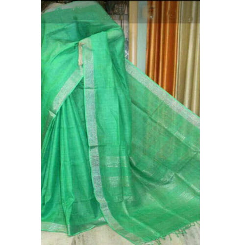 Lenin Saree Sea Green Color